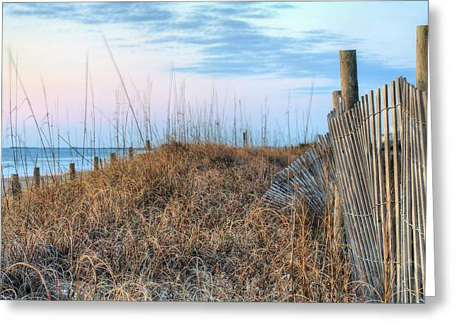 Wilmington North Carolina Greeting Cards - Carolina Pastels Greeting Card by JC Findley