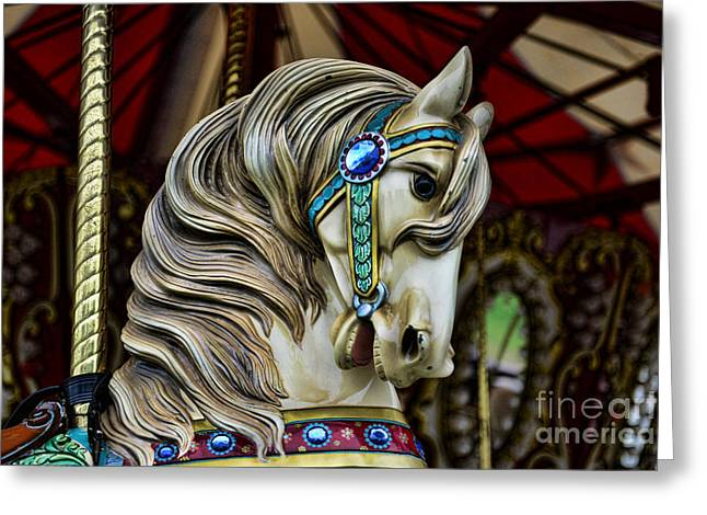 Armitage Greeting Cards - Carousel Horse 3 Greeting Card by Paul Ward