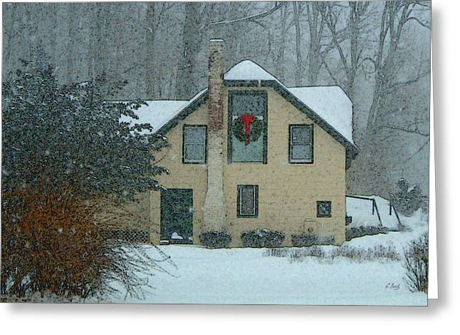 Brandywine Greeting Cards - Carriage House Greeting Card by Gordon Beck