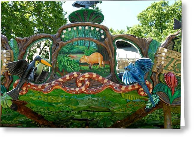 Amazon Greeting Card Greeting Cards - Carrousel 101 Greeting Card by Joyce StJames
