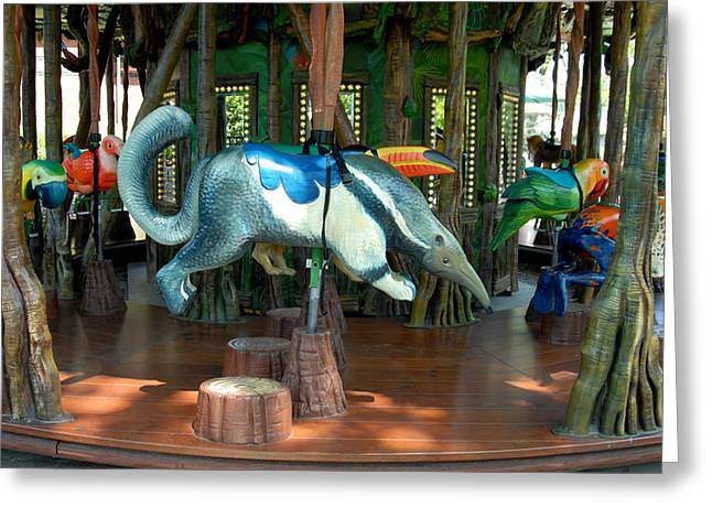 Amazon Greeting Card Greeting Cards - Carrousel 99 Greeting Card by Joyce StJames