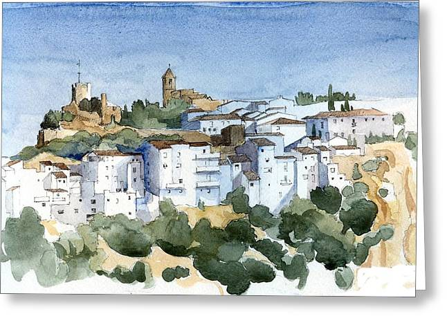 Stephanie Aarons Greeting Cards - Casares 2 Greeting Card by Stephanie Aarons