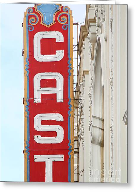 Transgender Greeting Cards - Cast At The Castro Theater in San Francisco . 7D7616 Greeting Card by Wingsdomain Art and Photography