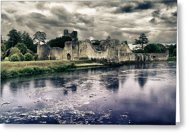 Limerick Greeting Cards - Castle Desmond Adare County Limerick Ireland Greeting Card by Joe Houghton