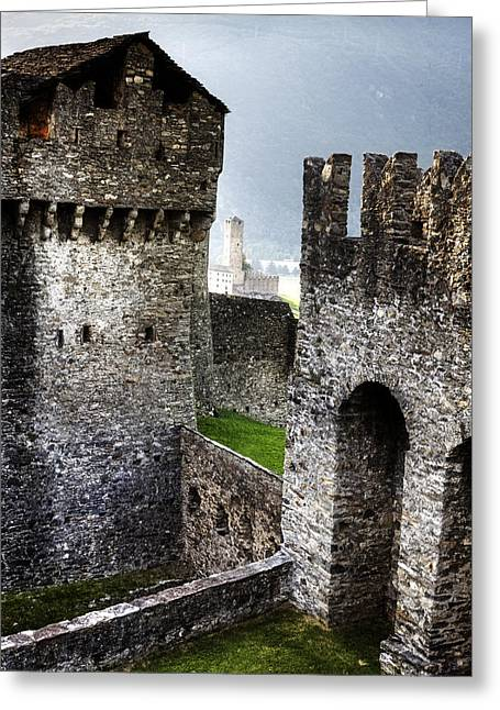 Montebello Greeting Cards - Castle Greeting Card by Joana Kruse