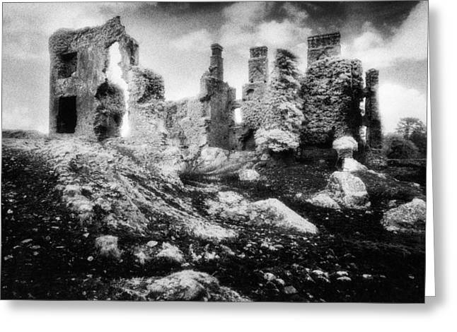 Castle Lyons Greeting Card by Simon Marsden