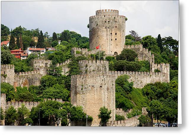 Bastion Greeting Cards - Castle of Europe Greeting Card by Artur Bogacki