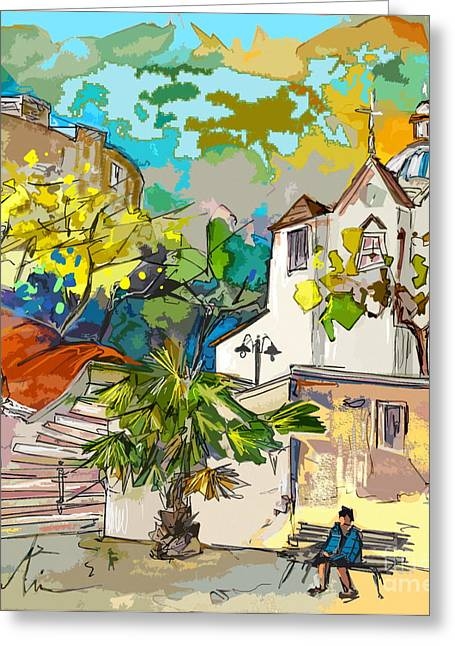 Castro Greeting Cards - Castro Marim Portugal 13 bis Greeting Card by Miki De Goodaboom