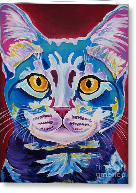 Alicia Vannoy Call Greeting Cards - Cat - Mystery Reboot Greeting Card by Alicia VanNoy Call