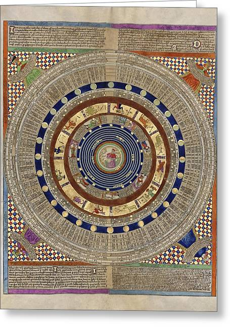 World System Greeting Cards - Catalan Atlas, 14th Century Greeting Card by Library Of Congress
