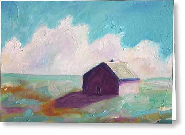 Tin Roof Greeting Cards - Catawba Virginia Barn Greeting Card by Todd Bandy