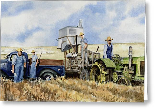 Pickup Greeting Cards - Catesby Cuttin 1938 Greeting Card by Sam Sidders