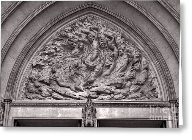 Cathedral Ex Nihilo Greeting Card by Susan Isakson
