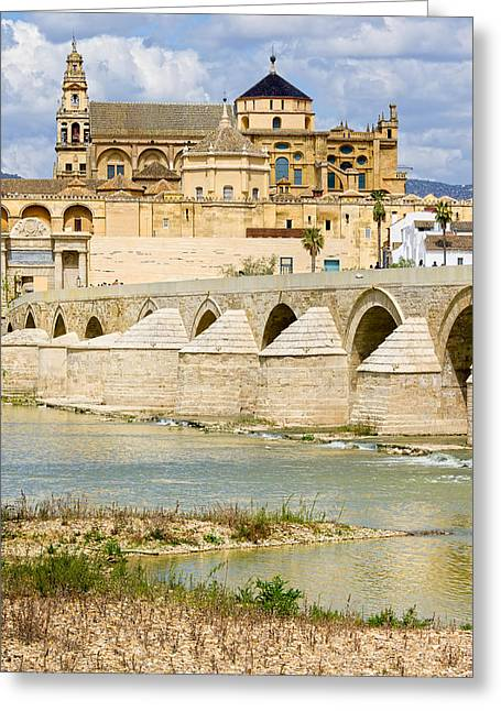 Cordoba Greeting Cards - Cathedral Mosque in Cordoba Greeting Card by Artur Bogacki