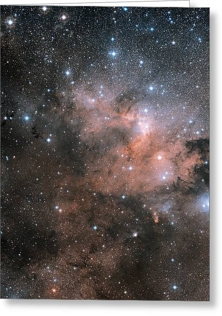155 Greeting Cards - Cave Nebula (sh2-155) Greeting Card by Davide De Martin