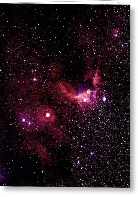 155 Greeting Cards - Cave Nebulae Greeting Card by Celestial Image Co.