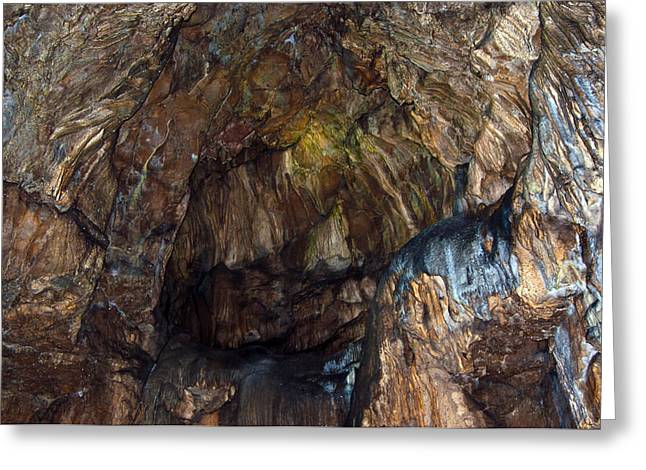 Cavern Greeting Cards - Cave01 Greeting Card by Svetlana Sewell