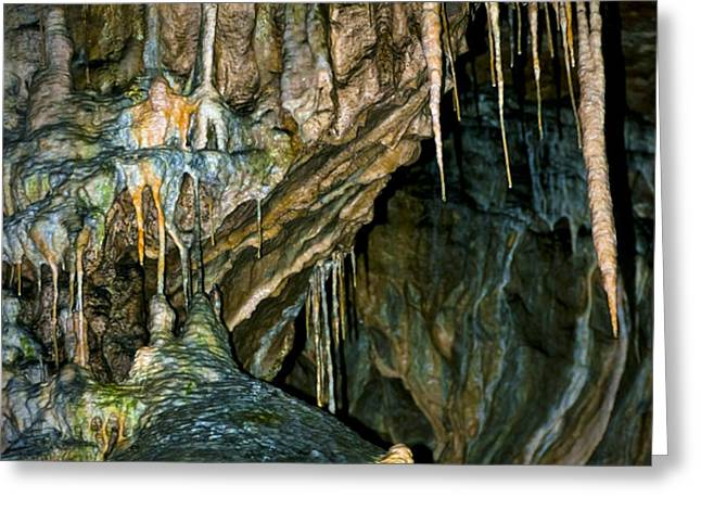 Cave03 Greeting Card by Svetlana Sewell