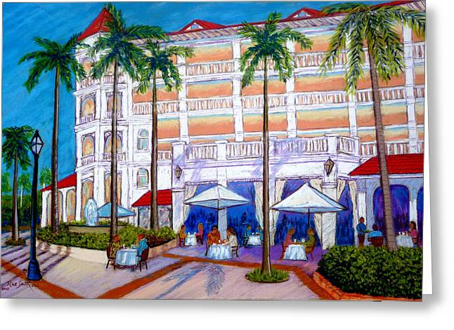 Dominican Republic Pastels Greeting Cards - Cayo Levantado DR Greeting Card by Rae  Smith  PSC