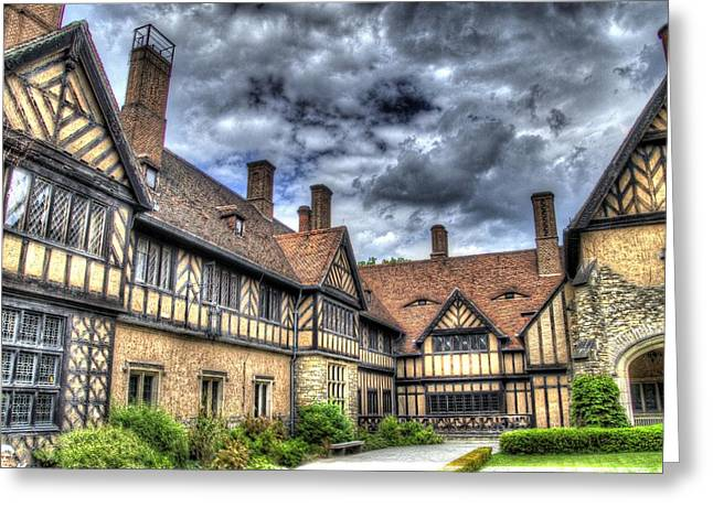Berlin Germany Greeting Cards - Cecilienhof Palace at Neuer Garten Berlin Greeting Card by Jon Berghoff