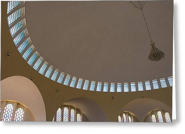 African Heritage Greeting Cards - Ceiling With Windows Greeting Card by David DuChemin