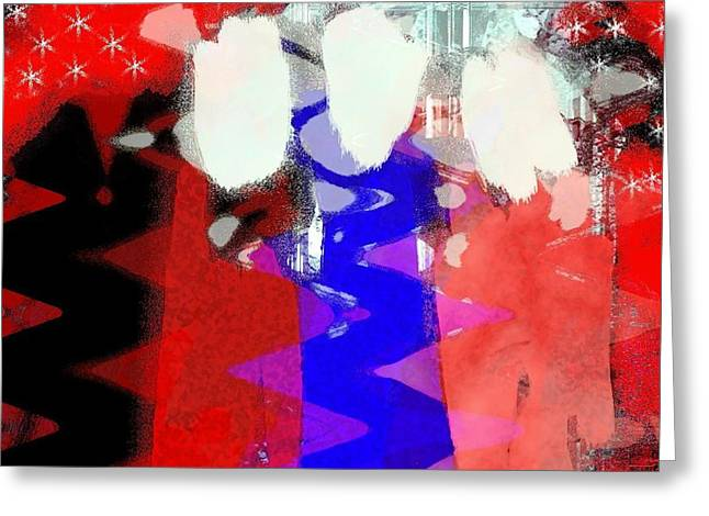 celebration 3 Greeting Card by Mimo Krouzian