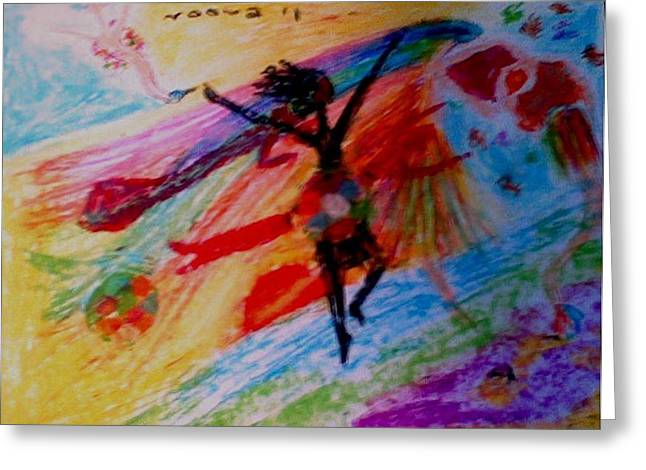 Celebration Pastels Greeting Cards - Celebration of Life.. Be..2 Greeting Card by Rooma Mehra