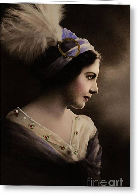 Hyper-realism Greeting Cards - Celeste Aida Greeting Card by Georgiana Romanovna