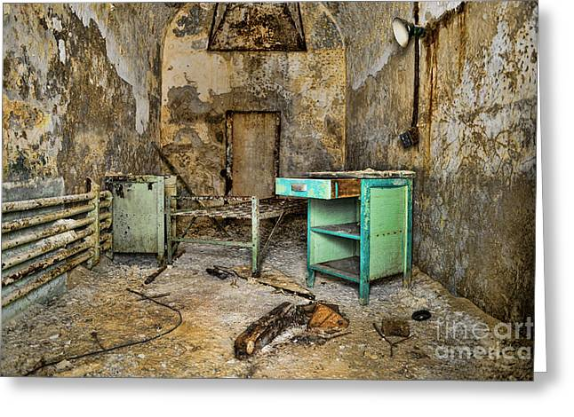 Eastern State Greeting Cards - Cell Block 5 Greeting Card by Paul Ward
