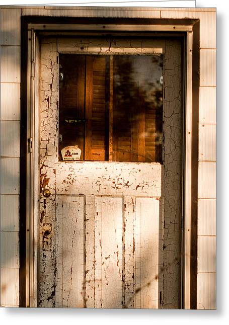 Ontario Greeting Cards - Cellar Door Greeting Card by Cale Best