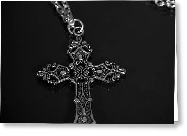celtic cross Greeting Card by Joana Kruse