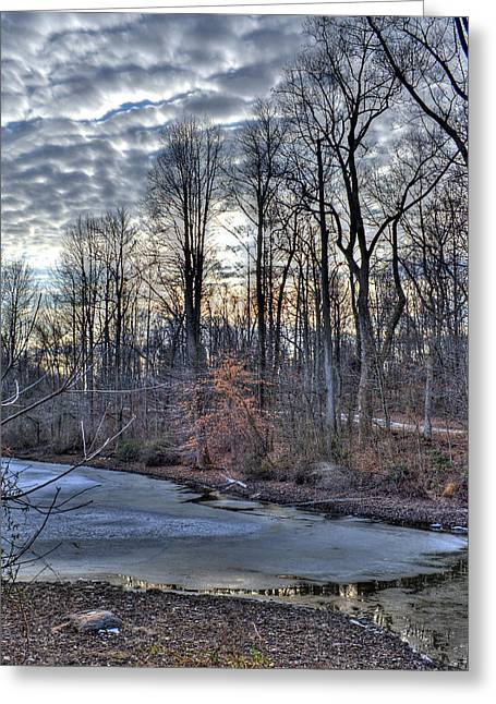 Centennial Lake Greeting Card by Stephen Younts