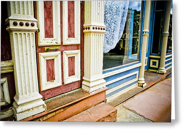 Store Fronts Greeting Cards - Central City Colorado 2 Greeting Card by Marilyn Hunt