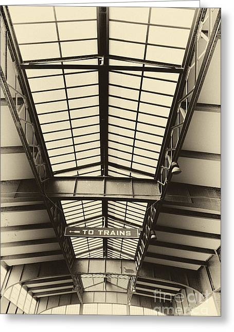 Ledaphotography.com Greeting Cards - Central Railroad of New Jersey  Greeting Card by Leslie Leda