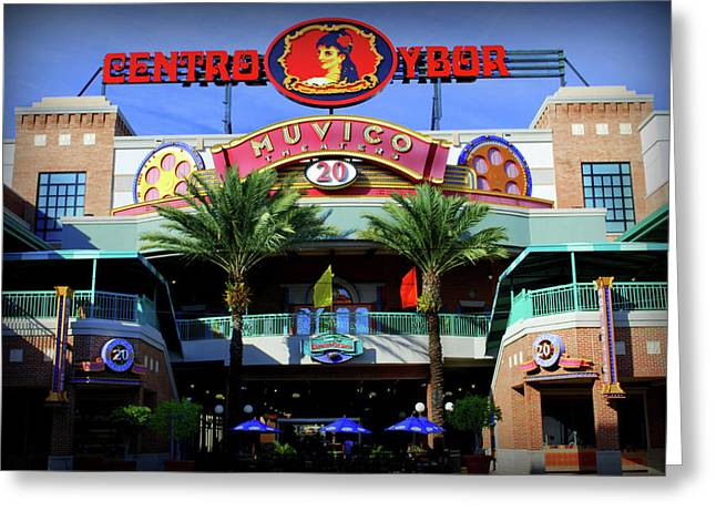 Fence Greeting Cards - Centro Ybor Greeting Card by Amanda Vouglas