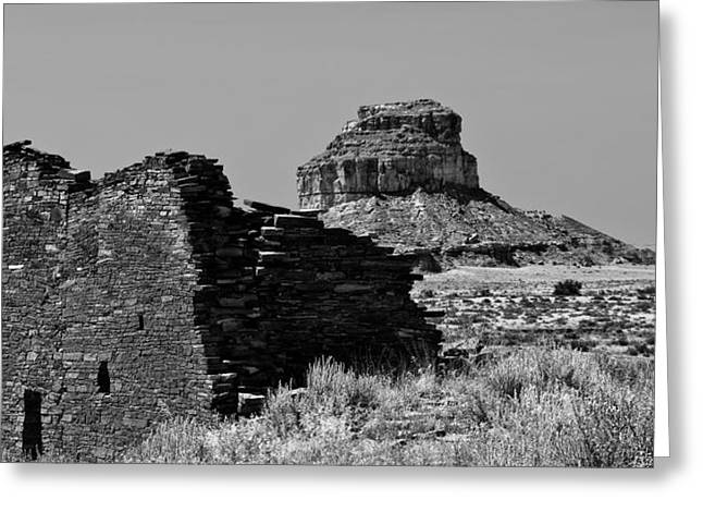Chaco Greeting Cards - Chaco One Greeting Card by Paul Basile