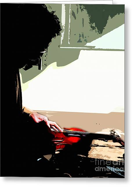 Repaired Digital Art Greeting Cards - Changing Her G String Greeting Card by Steven  Digman