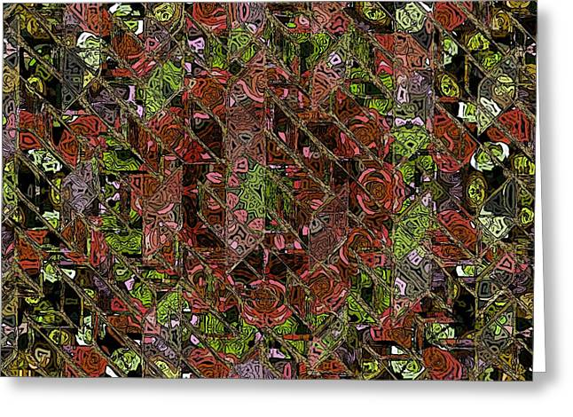 Chaos Greeting Card by Stefan Kuhn