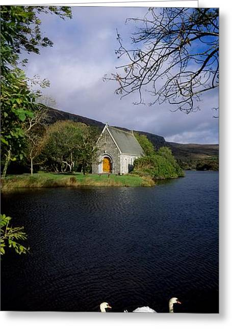 Gougane Barra Church Greeting Cards - Chapel At Gougane Barra, Co Cork Greeting Card by The Irish Image Collection