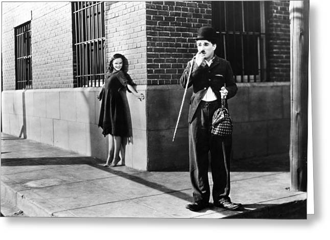 1936 Movies Greeting Cards - Chaplin: Modern Times, 1936 Greeting Card by Granger