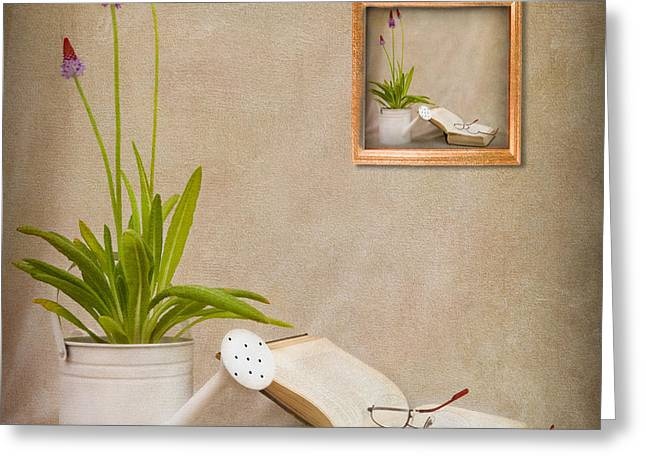 Watering Can Greeting Cards - Chapter 2 Greeting Card by Ian Barber