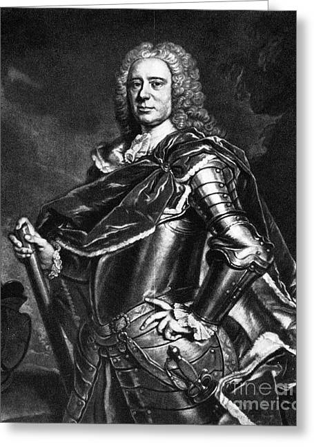Charles Cathcart (1686-1740) Greeting Card by Granger