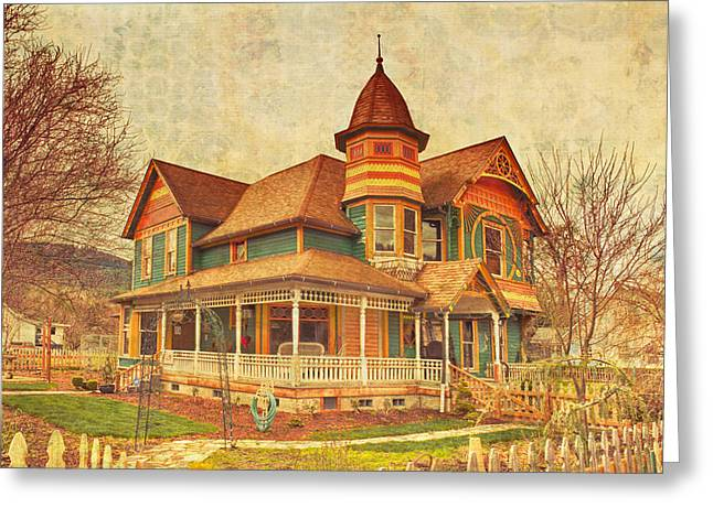 Drain Greeting Cards - Charles E. Hasard House Greeting Card by Alvin Kroon