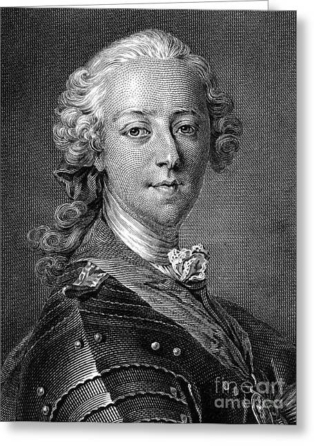 Pretender Greeting Cards - Charles Edward Stuart Greeting Card by Granger
