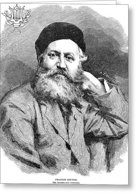Francois Greeting Cards - Charles Francois Gounod Greeting Card by Granger