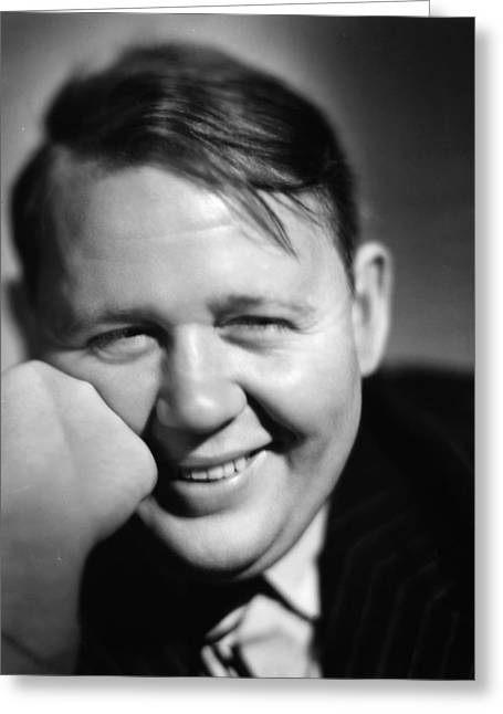 1939 Movies Greeting Cards - Charles Laughton Greeting Card by Granger