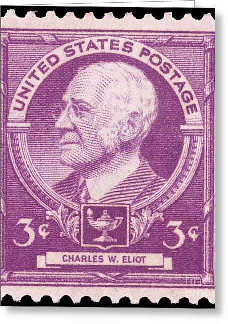Sideburns Greeting Cards - Charles William Eliot Greeting Card by Granger