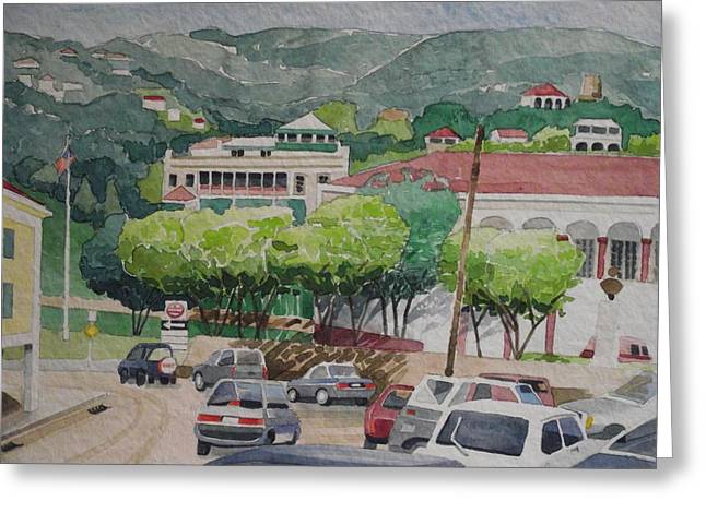 Charlotte Paintings Greeting Cards - Charlotte Amalie Tolbad Gade Greeting Card by Robert Rohrich