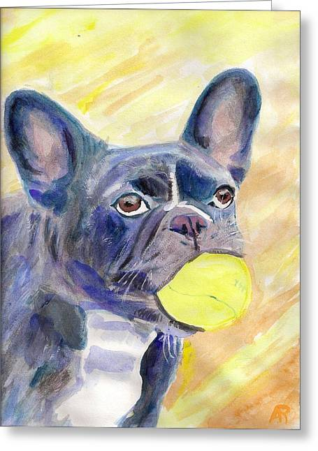 Arthur Rice Greeting Cards - Charlotte Greeting Card by Arthur Rice