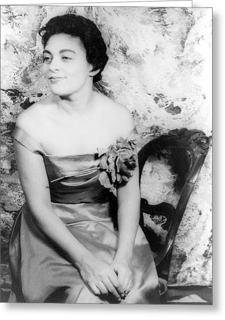 Van Vechten Greeting Cards - Charlotte Holloman (1922-) Greeting Card by Granger